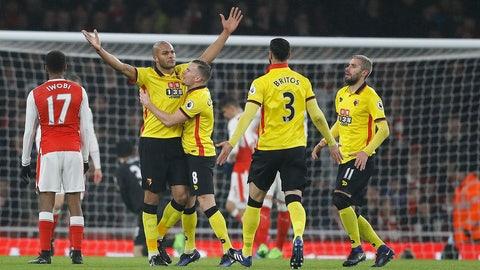 Saturday: Manchester United vs. Watford