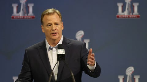 Skip: Goodell can invite himself to a Patriots game, but he's afraid