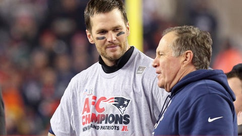 Shannon: If Belichick wins a Super Bowl without Brady, he'd the greatest coach in any sport