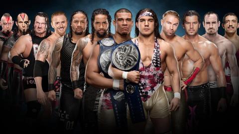 The Ascension vs. Rhyno and Heath Slater vs. The Usos vs. American Alpha vs. Breezango vs. The Vaudevillains in a tag team turmoil match for the SmackDown Tag Team Championship