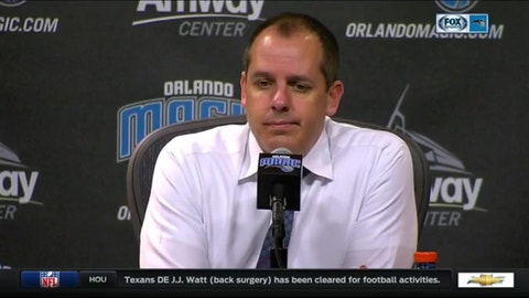 Frank Vogel, Orlando Magic: C-