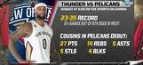 Thunder Live: Pelicans visit OKC