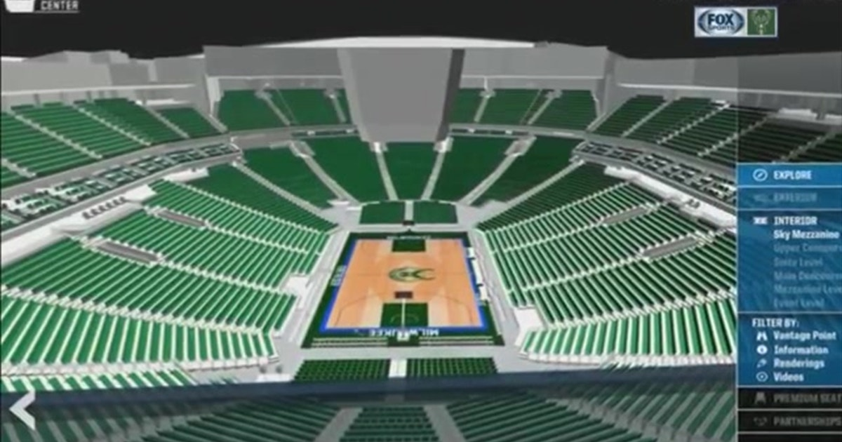 Take A Digital Tour Of The New Bucks Arena Fox Sports
