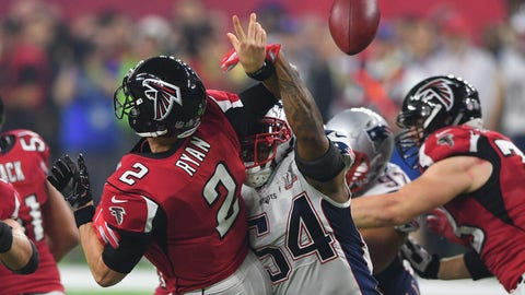 Shannon: Devonta Freeman blew his assignment to allow a game-changing strip sack
