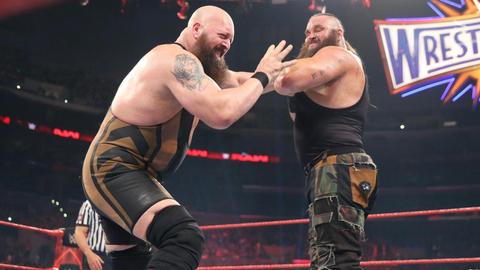 The Big Show vs. Shaq vs. Braun Strowman