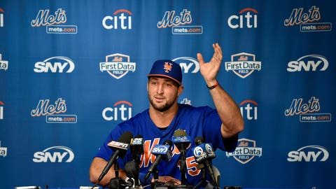 Skip Bayless: Tebow was always going to struggle, but he showed promise in the Arizona Fall League