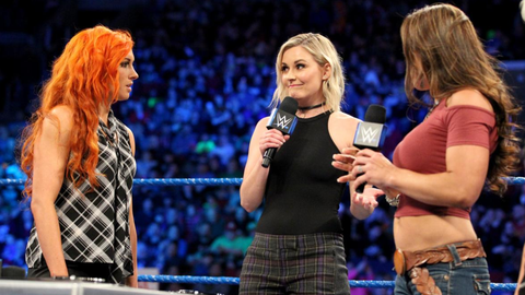 Becky Lynch vs. Mickie James