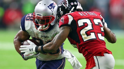 October 22: Atlanta Falcons at New England Patriots, 8:30 p.m. ET