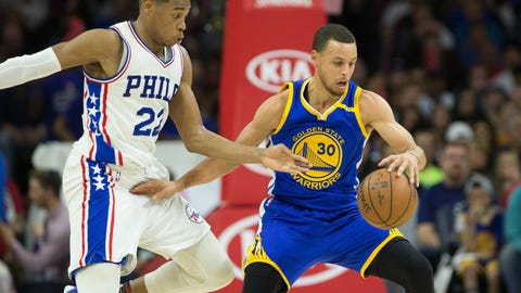 Shannon: Kevin Durant is there to take the pressure off of Steph