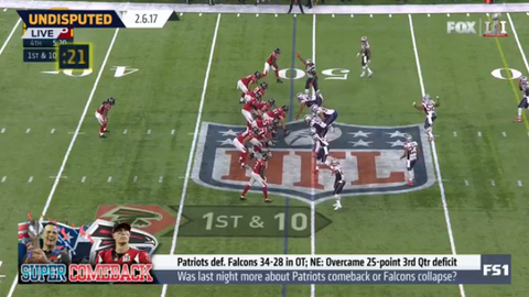 Shannon: The Falcons badly mismanaged the clock and played like they were behind