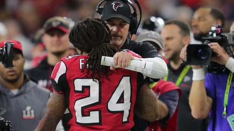 Shannon: Dan Quinn could have stepped in to stop the Falcons' collapse