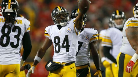 Antonio Brown, WR, Pittsburgh Steelers (6th round, 2010)