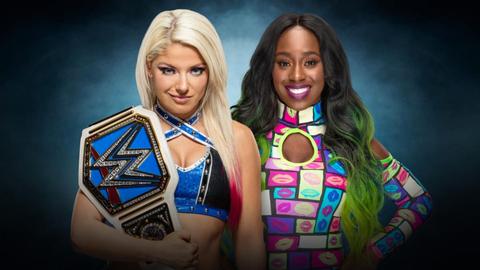 Alexa Bliss vs. Naomi for the SmackDown Women's Championship