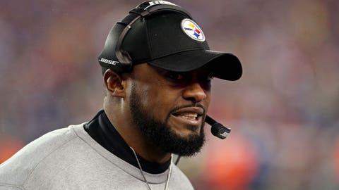 Skip: The locker room would unquestionably belong to Mike Tomlin if Brown wasn't there