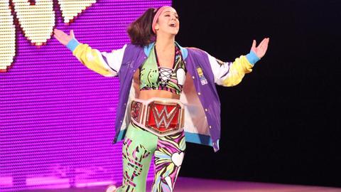 Bayley and Sasha Banks vs. Charlotte and Nia Jax