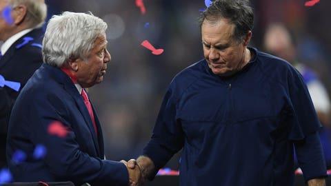 New England Patriots: $61.1 million