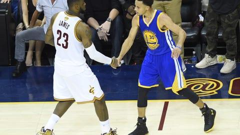Cleveland Cavaliers vs. Golden State Warriors: -128 (25/32)