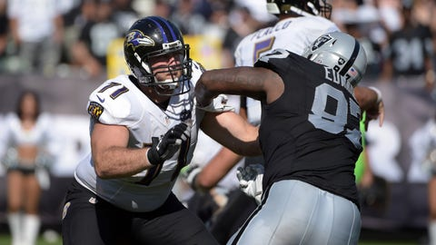 October 8: Baltimore Ravens at Oakland Raiders, 4:05 p.m. ET