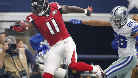 November 12: Dallas Cowboys at Atlanta Falcons, 4:25 p.m. ET