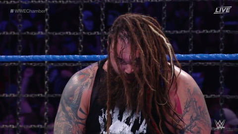 Bray Wyatt wins the Elimination Chamber match to win the WWE World Championship