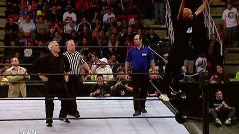 Fox Sports: You only did this a few times, but you did step into the ring and wrestle. The match that comes to my mind is against Eric Bischoff at Survivor Series. How did you prepare for those types of matches? Were the guys in the back training you?