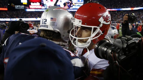 September 7: Kansas City Chiefs at New England Patriots, 8:30 p.m. ET