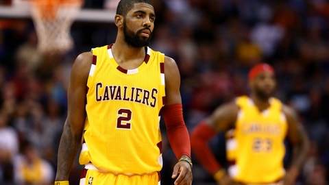 PG Kyrie Irving, 2014-present, Cavaliers