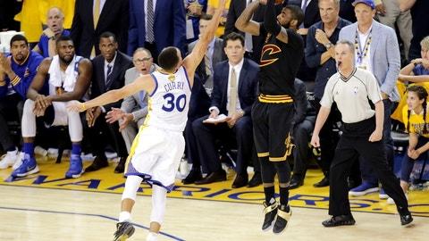 Cavaliers vs. Warriors: -145
