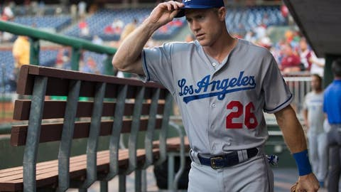 Los Angeles Dodgers: Chase Utley, 2B (38)