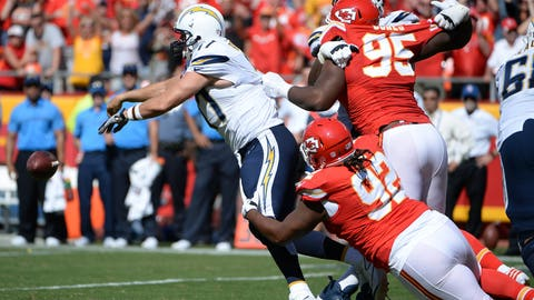 December 16: Los Angeles Chargers at Kansas City Chiefs, 8:30 p.m. ET