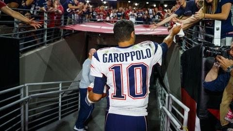 Jimmy Garoppolo trade scenarios