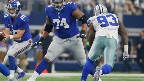 Ereck Flowers, OT, New York Giants