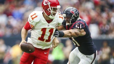 October 8: Kansas City Chiefs at Houston Texans, 8:30 p.m. ET