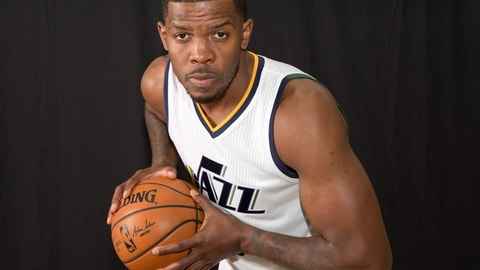 Joe Johnson, SG, Utah Jazz -- 230