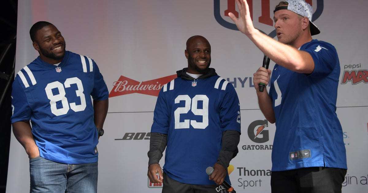 4ff1bae05 Former Colts Teammates React to Pat McAfee s Retirement