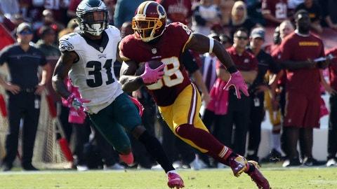 September 10: Philadelphia Eagles at Washington Redskins, 1 p.m. ET