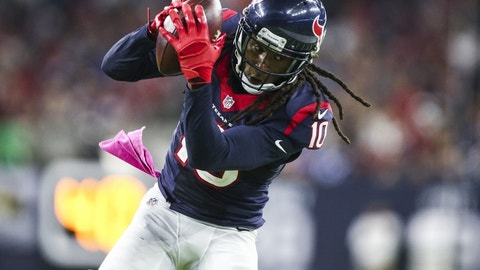 DeAndre Hopkins, WR, Texans (UFA)