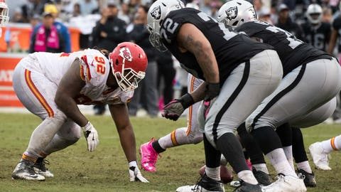 October 19: Kansas City Chiefs at Oakland Raiders, 8:25 p.m. ET