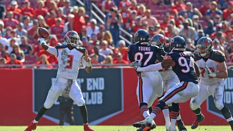 September 17: Chicago Bears at Tampa Bay Buccaneers, 1 p.m. ET