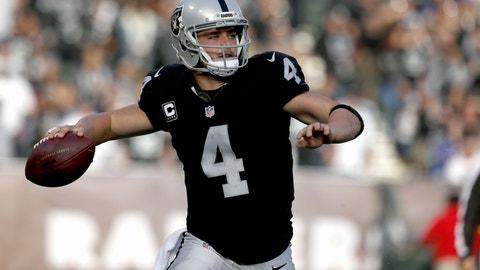 Raiders' offense becoming more balanced