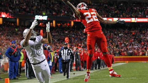 December 10: Oakland Raiders at Kansas City Chiefs , 1 p.m. ET