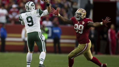 LEAST LIKELY -- 1. 49ers-Jets: 5,000/1