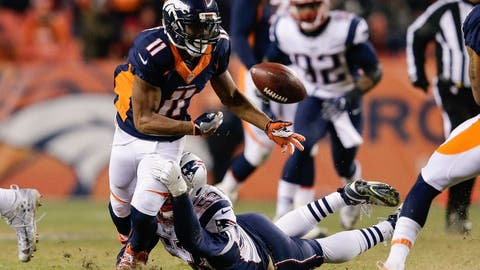 November 12: New England Patriots at Denver Broncos, 8:30 p.m. ET