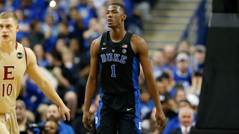 Milwaukee Bucks: Harry Giles, C, Duke (freshman)