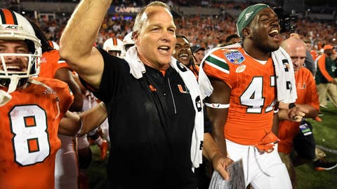 Miami: It has one of the most manageable schedules in college football