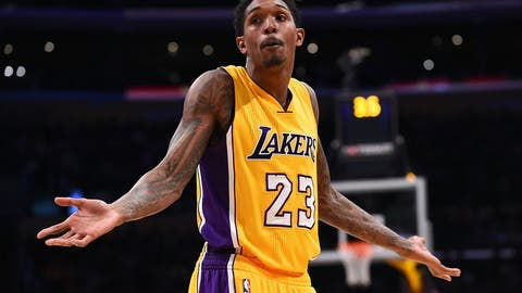 Los Angeles Lakers send Lou Williams to the Houston Rockets for Corey Brewer and a future first-round pick