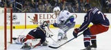 Columbus Blue Jackets Fall Three Goals To None To The Vancouver Canucks