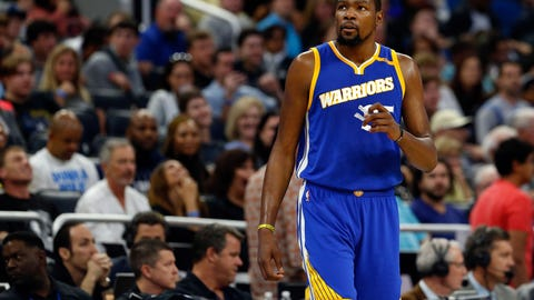 Cris: Durant is bigger than that