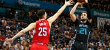 Nic Batum Plays Well in the Charlotte Hornets Loss to Blake Griffin and the Clippers