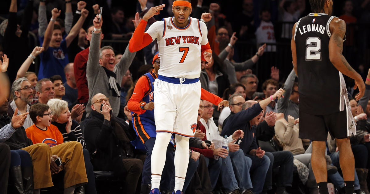 Spurs Vs Knicks Detail: New York Knicks: Carmelo Anthony Plans To Rest During All